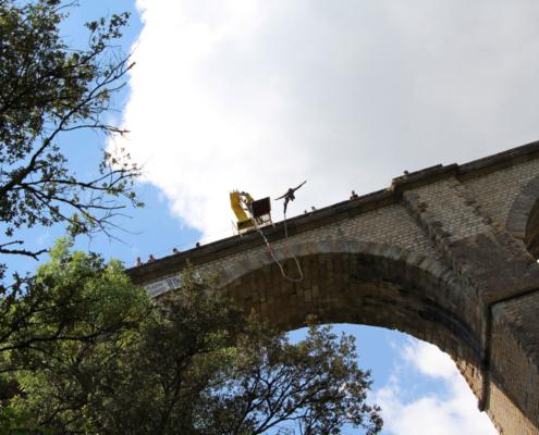 seajump saut elastique viaduc Adrénaline extrême