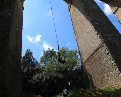 seajump saut élastique viaduc Béziers hérault